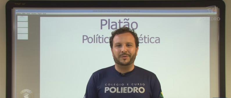 Vídeo Curso de Filosofia Aula 05 Platão Política e Dialética
