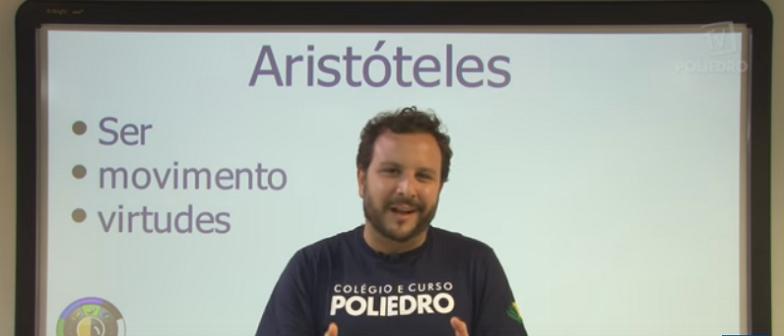 Vídeo Curso de Filosofia Aula 08 Aristóteles O Ser e as virtudes