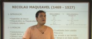 Vídeo Curso de Filosofia Aula 13 Maquiavel Vestibular1