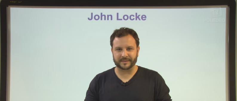Vídeo Curso de Filosofia Aula 20 John Locke Vestibular1