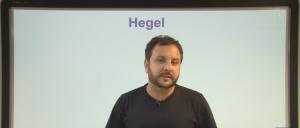 Vídeo Curso de Filosofia Aula 25 Hegel Vestibular1