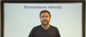 Vídeo Curso de Filosofia Aula 26 Romantismo Alemão