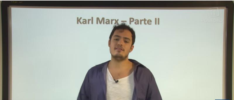 Vídeo Curso de Filosofia Aula 28 Karl Marx Parte II