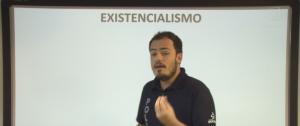 Vídeo Curso de Filosofia Aula 34 Existencialismo Vestibular1