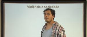 Vídeo Curso de Filosofia Aula 42 Sociologia Violência e Sociedade
