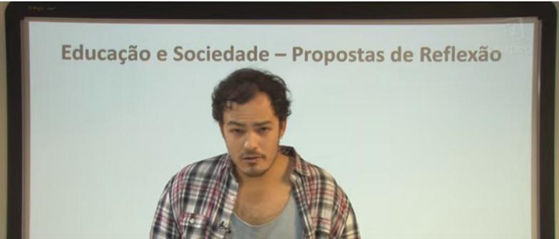 Vídeo Curso de Filosofia Aula 43 Sociologia Propostas de Reflexão