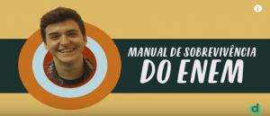 Vídeo Dica de Como Sobreviver ao ENEM por Vestibular1