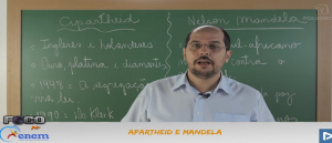 Atualidades Vídeo Aula 01 Apartheid e Mandela. Provas
