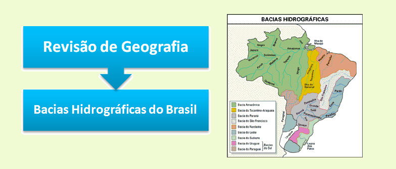 Bacias Hidrográficas do Brasil Geografia Vestibular1