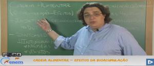 Biologia Vídeo Aula 09 Efeitos da Bioacumulação. Concursos