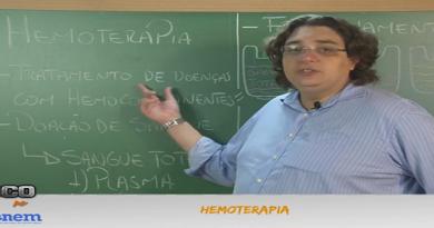 Biologia Vídeo Aula 10 Hemoterapia. Enem