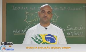 Biologia Vídeo Aula 18 Teoria da Evolução por Darwin Vestibular1