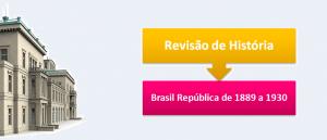 Brasil República de 1889 a 1930 Vestibular1