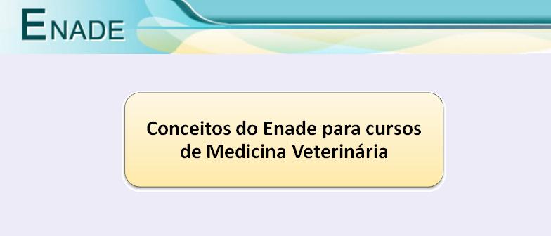 Conceitos do Enade para cursos de Medicina Veterinária Vestibular1