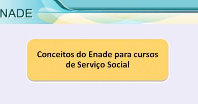 Conceitos do Enade para cursos de Serviço Social Vestibular1