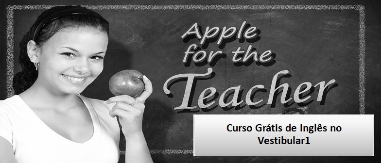 Curso Grátis de Inglês no Vestibular1 Enem