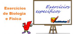 Exercícios de Biologia e Física por Vestibular1