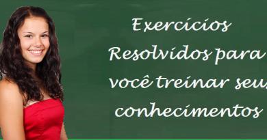 Exercícios Resolvidos por Vestibular1