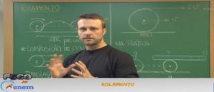 Física Vídeo Aula 17 Rolamento. Vestibular1