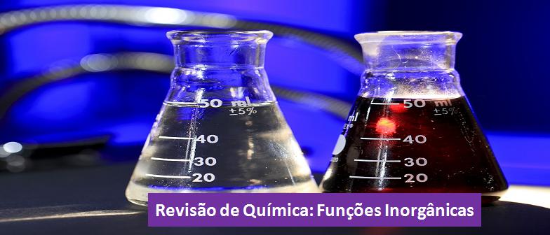 Funções Inorgânicas Química Revisão Vestibular1