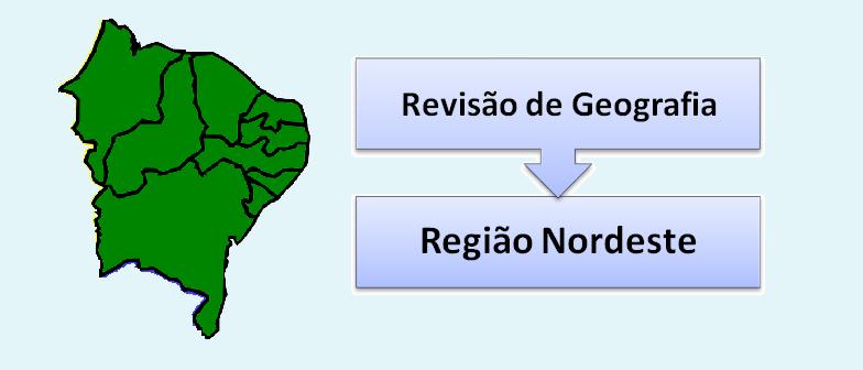 Geografia do Brasil Região nordeste Vestibular1