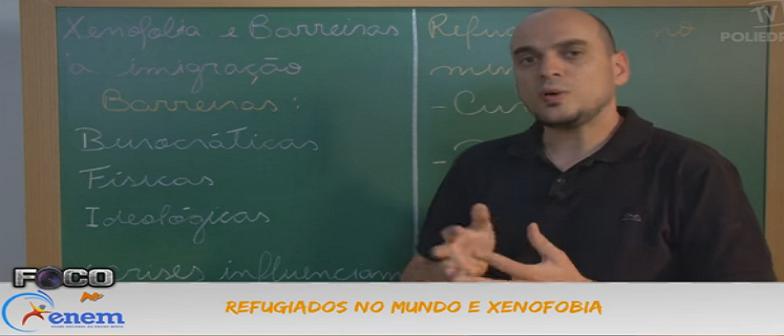 Geografia Vídeo Aula 02 Refugiados no mundo e xenofobia. Vestibular1