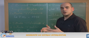 Geografia Vídeo Aula 04 Desmonte do Estado Interventor.