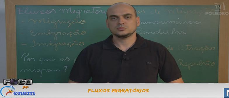 Geografia Vídeo Aula 1 Fluxos Migratórios. Vestibular1