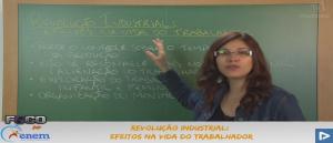 História Vídeo Aula 09 Revolução Industrial Efeitos na vida do trabalhador