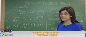 Inglês Vídeo Aula 01 Present Perfect Tense Formação e Usos. Enem