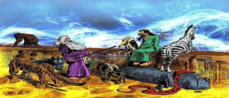 História: Leis de Noé Vestibular1
