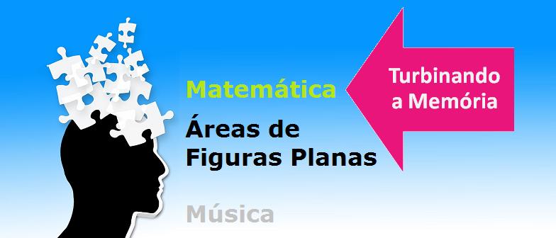 Matemática Áreas de Figuras Planas Música Vestibular1