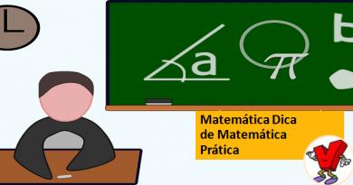 Matemática Dica de Matemática Prática Vestibular1