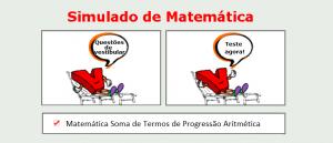 Matemática Soma de Termos de Progressão Aritmética