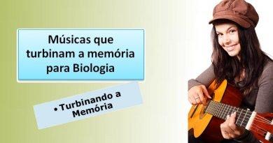 Músicas que turbinam a memória Biologia Vestibular1