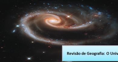 O Universo Revisão de Geografia Vestibular1