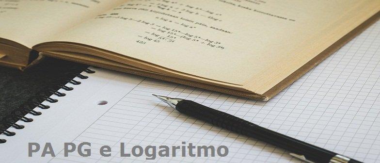 PA PG e Logaritmo Vestibular1