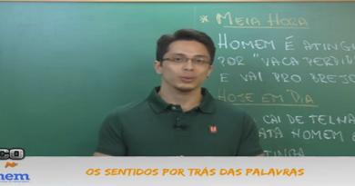 Português Vídeo Aula 01 Sentidos por trás das Palavras. Vestibular1