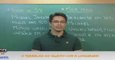 Português Vídeo Aula 03 Linguagem e Expressão I. Vestibular1