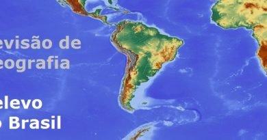 Revisão de Geografia: Relevo do Brasil Vestibular1