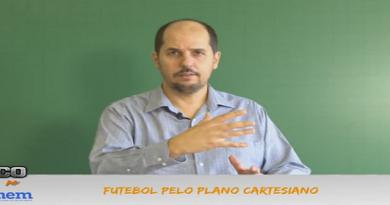 Revisão para o Enem Vídeo Aula de Filosofia 04: Futebol pelo plano cartesiano