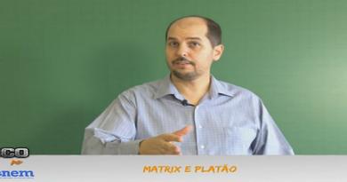 Revisão para o Enem Vídeo Aula de Filosofia 05. Platão e Matrix