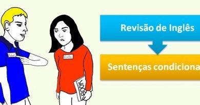 Inglês: Sentenças condicionais Vestibular1