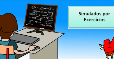 Simulados por Exercícios de Matérias no Vestibular1