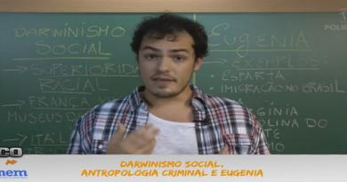Sociologia Vídeo Aula 05 Darwinismo Social Antropologia Criminal e Eugenia