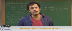 Sociologia Vídeo Aula 09 Racismo no Brasil Discussões básicas. Vestibular1