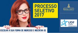UDF 2017 Processo Seletivo com Bolsas Vestibular1