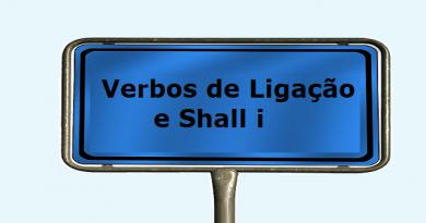 Inglês: Verbos de Ligação e Shall i Vestibular1