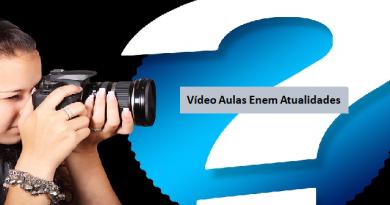 Vídeo aulas Enem Atualidades Vestibular1