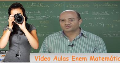 Vídeo Aulas Enem Matemática Vestibular1